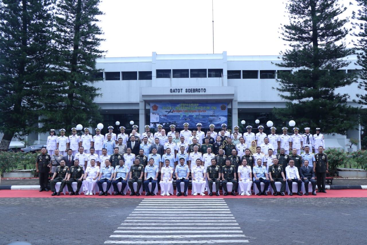Panglima TNI Resmikan Pusat Informasi Maritim
