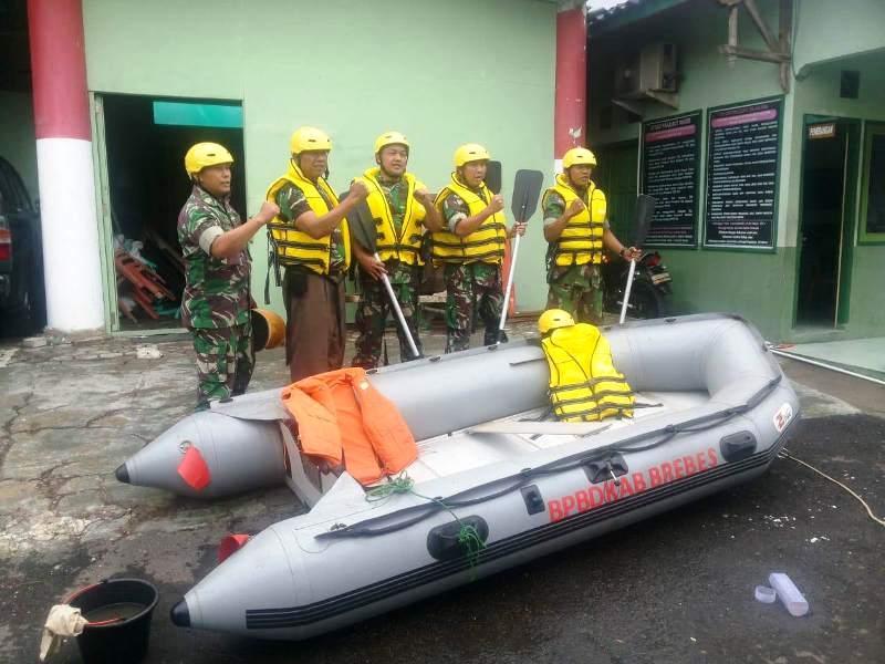 Siaga Bencana Alam, Dandim 0713/Brebes: Personil Kodim 0713/Brebes Siap Gerak Cepat