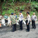 Rencana Bulan Febuary Terpasang, Ketua KNKT Tinjau Titik Pemasangan Guardrail Gunung Lio