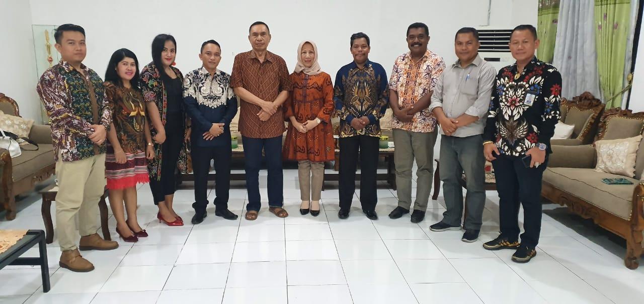 Jelang Launching PJUTS, Bupati Ende Audiensi Dengan PPTSLP