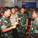 Didampingi Kapolri, Panglima TNI Berikan Arahan Prajurit TNI- Polri di Morotai