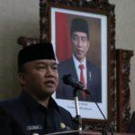 Paripurna, Wakil Walikota Tegal Muhamad Jumadi ST.MM Sampaikan Jawaban Pemandangan Umum Fraksi