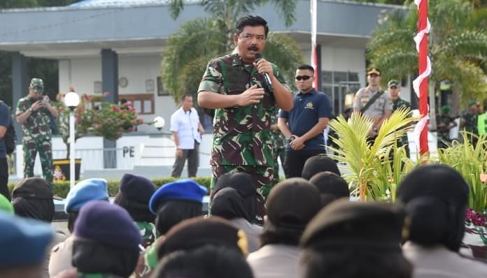Panglima TNI: Kesetian NKRI Bentuk Nyata Sinergi TNI – Polri