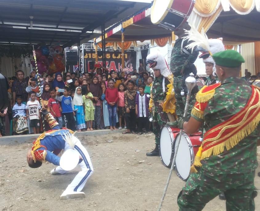 Atraksi Marching Band Ini Bikin Kagum Masyarakat Perkampungan Nelayan Kota Tegal