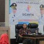 Masyarakat Semakin Dimanjakan, Aplikasi Cerdas layanan Perizinan Resmi di Launching Bupati Tegal