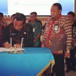 Tandatangani Perjanjian Kinerja, Wali Kota Tegal Tegaskan Hilangkan  5 D