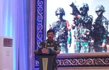 Rapim TNI Tahun 2020, Panglima TNI Bahas Mekanisme Tiga Badan Pelaksana Pusat