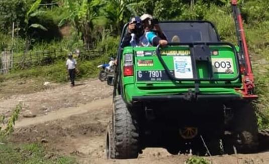 Offroad Desa Kalinusu, Bupati Brebes Kenalkan Potensi Wisata Maribaya