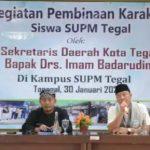 Kunjungi SUPM, Imam Badarudin Tegaskan  Pemuda Sebagai Tunas Masa Depan
