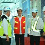 Presiden Ir Joko Widodo Kunjungi Bandara Yogyakarta Internasional Airport