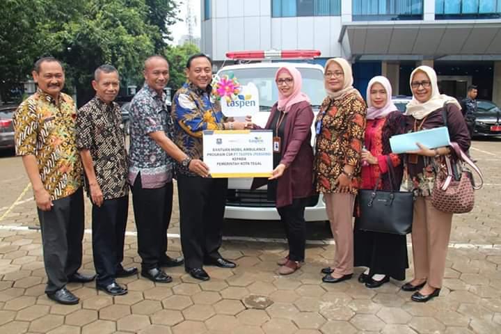 Kerjasama Berkelanjutan, Wali Kota Tegal Apresiasi Hibah PT Taspen (Persero)