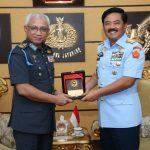 Panglima TNI Terima Kunjungan Kehormatan Panglima Malaysia