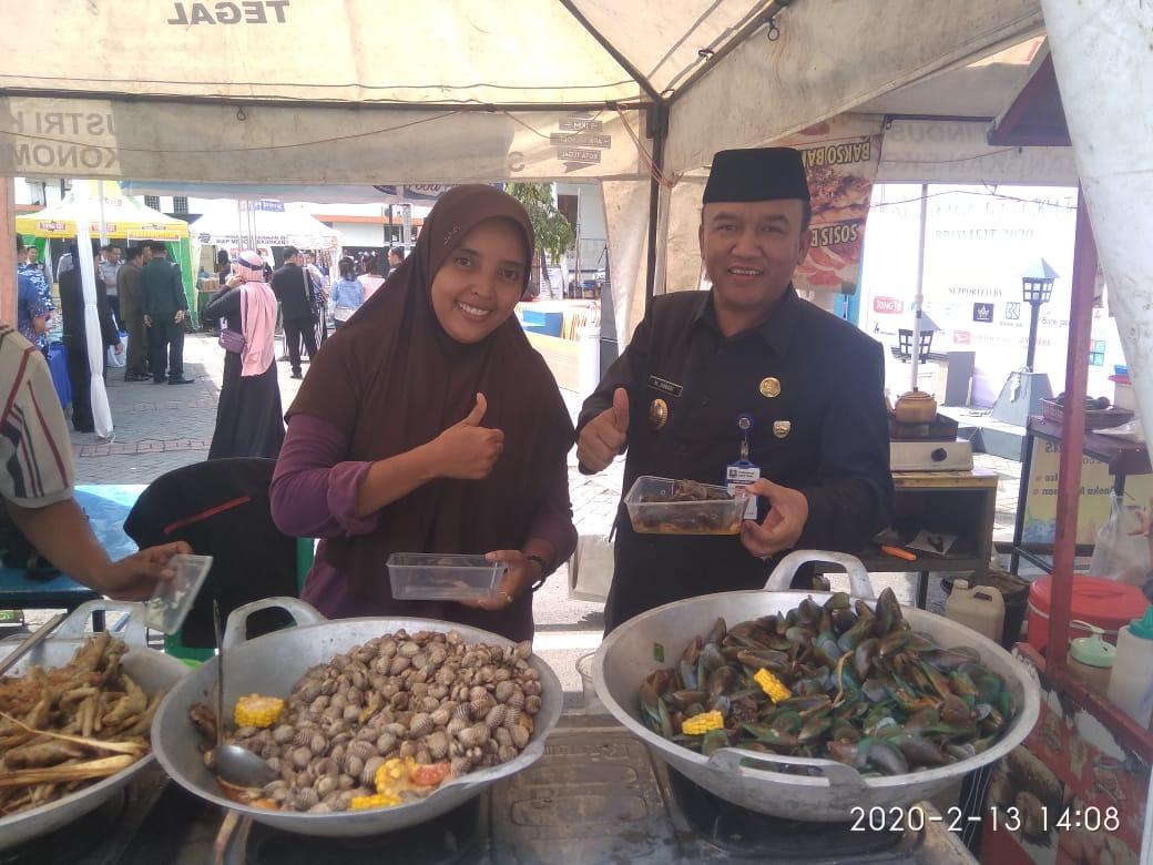 Kerang Kerontang dan Juice Alpukat Bangkitkan Selera Wakil Walikota Tegal
