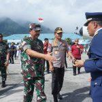 Panglima TNI Bersama Kapolri Hadiri Upacara Militer Jenazah Korban Heli Mi-17