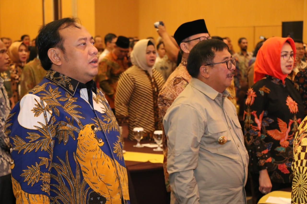 Walikota Tegal Hadiri Launching Indonesia City Expo ( ICE ) Tahun 2020
