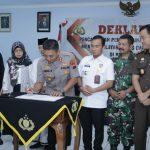 Kapolres Batang AKBP Abdul Waras, Zona integritas Komitmen Kuat Polres Batang