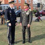 KASAD Terima Medali The Legion of Merit, degree of Commander, dari Pemerintah Amerika Serikat