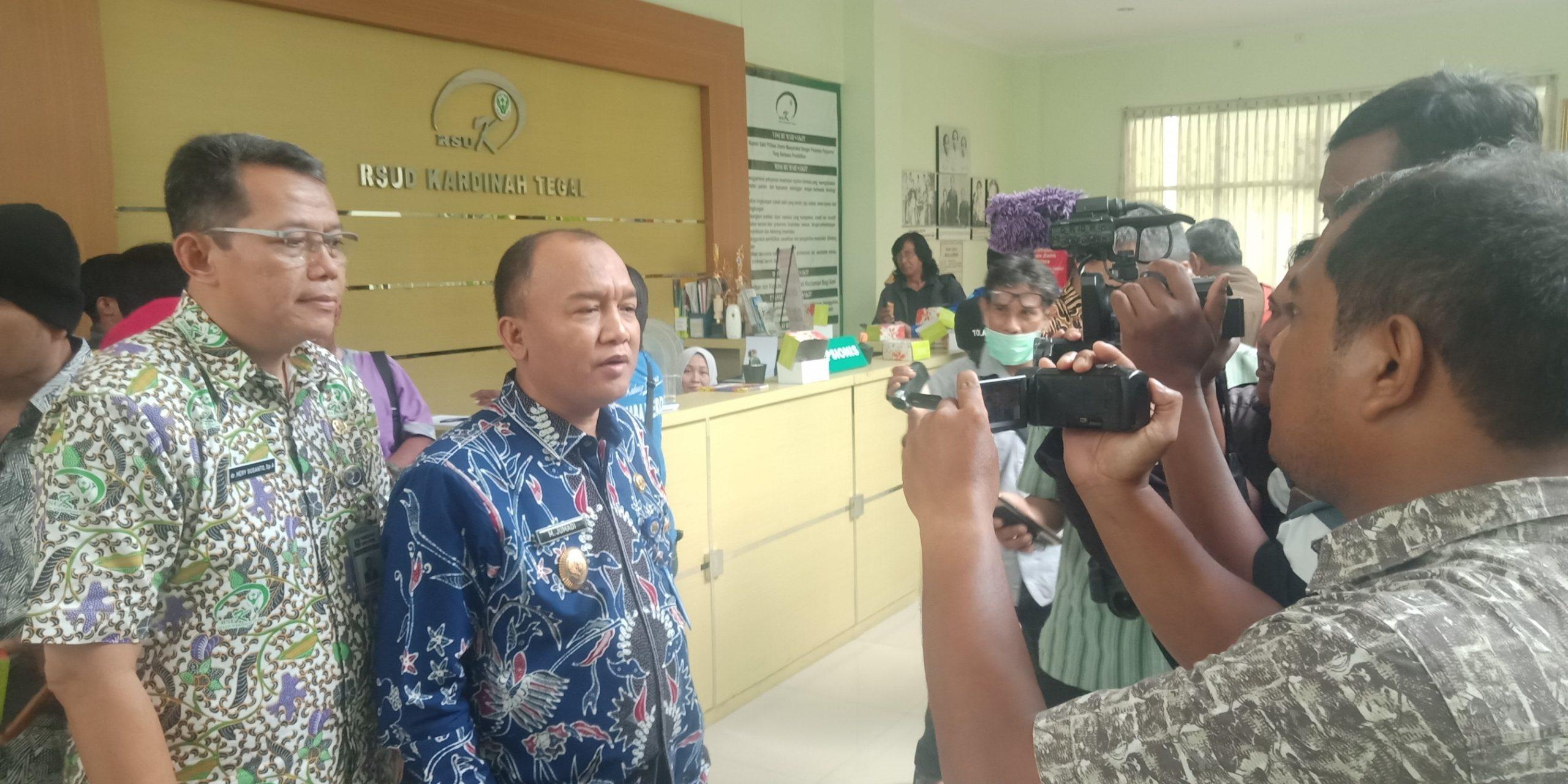 Wakil Walikota Tegal Imbau Masyarakat Tetap Tenang, Dr.Renny Sebut Pasien Tidak Pernah Ke China