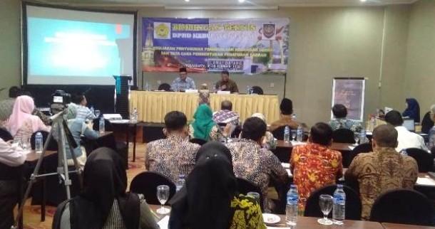 DPRD Kabupaten Tegal Ikuti Bimbingan Teknis
