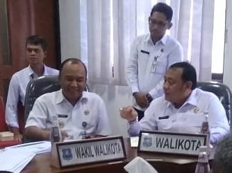 Wali Kota dan Wakil Walikota Tegal Rapat Dengar Pendapat Bersama Komisi I