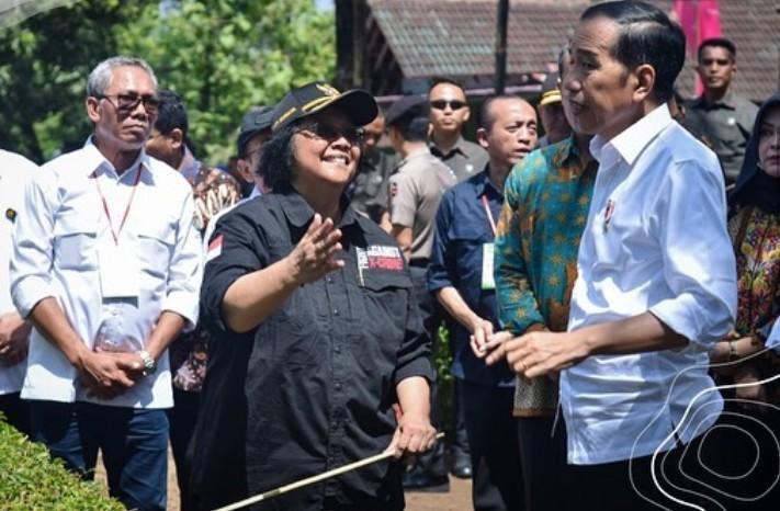 Jokowi, Revitalisasi Lahan Kritis di Daerah Tangkapan Air Waduk Gajah Mungkur