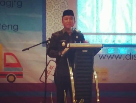 Wakil Walikota Tegal Bersama Disperindag Jateng Paparkan Aplikasi SIIDA