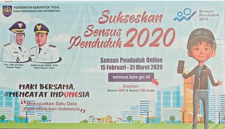 BPS Kabupaten Tegal, Sukseskan Sensus Penduduk 2020 Menuju Satu Data