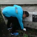 Peringati HPSN 2020, Bersama Pengiat Lingkungan Wakil Bupati Tegal Turut Pungut Sampah