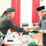 Seluruh Fraksi DPRD Kota Tegal Setujui Penjelasan Wali Kota Tegal  yang Diwakili Wakil Wali Kota