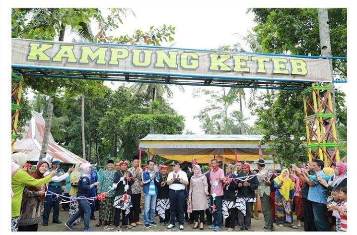 Kampung Keteb, Destinasi Wisata Baru di Kebumen di Resmikan Bupati