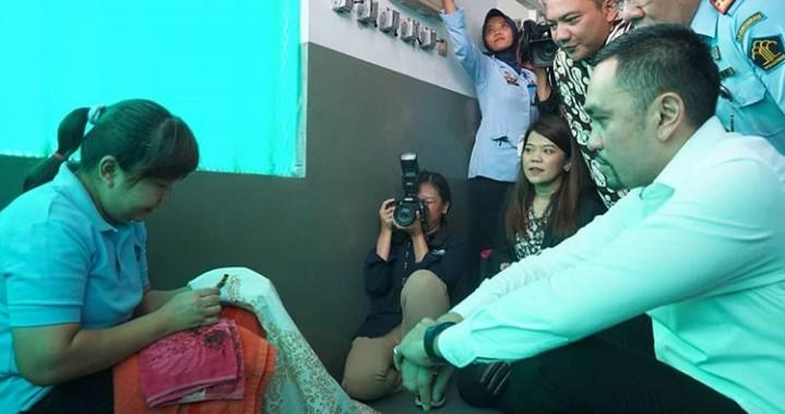 Kunjungan Kerja ke Lapas, Komisi 3 DPR RI Dialog Dengan Marry Jane