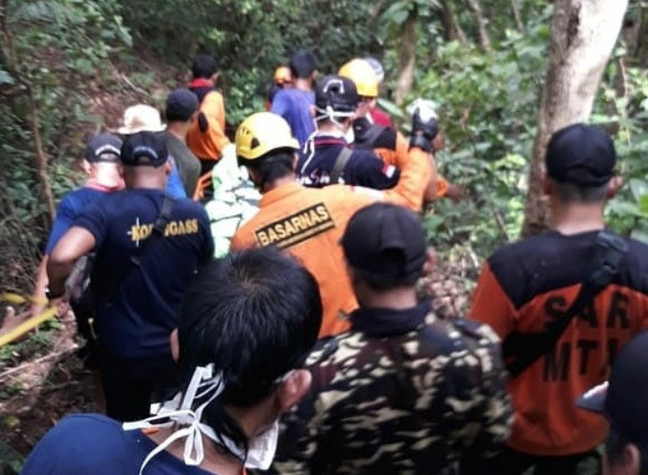 Tim SAR Gabungan Berhasil Menemukan Survivor
