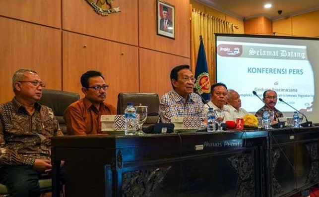Pencegahan Wabah Corona, Sri Sultan Hamengku Buwono X Adakan Jumpa Pers