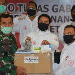 Menteri BUMN Dan Satgas Covid-19 DPR RI Kunjungi RSD Wisma Atlet