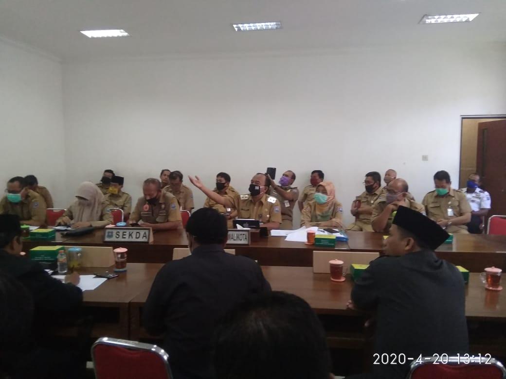 Berikut Aturan PSBB Kota Tegal Dalam Rapat Dengar Pendapat