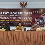 Bupati Apresiasi Kinerja Kodim, Polres Batang Siapkan Kontijensi Tangani Covid-19