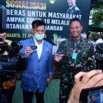 Atasi Dampak Corona, Mentan Gandeng TNI AD dan BNI Launching ATM Pertanian Si Komandan
