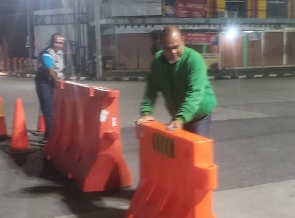 Dishub Kota Tegal Buka Akses Penutup Jalan, Warganet Ramaikan Jagad Medsos