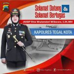 AKBP Rita Wulandari Wibowo, S.I.K M.H Resmi Menjabat Kapolres Tegal Kota