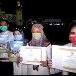 Penutupan PSBB,  Wali Kota Tegal Berikan Penghargaan Bagi Tim Medis