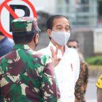 Panglima TNI Dampingi Presiden Jokowi Tinjau Persiapan Penerapan Prosedur New Normal