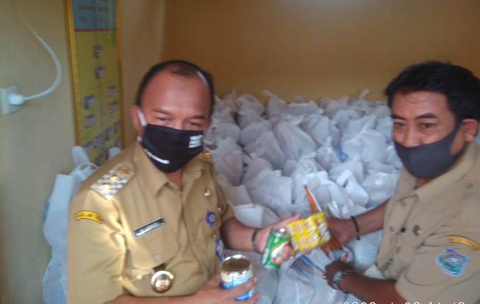 Masih Ada yang Lebih Membutuhkan, Ribuan Bantuan Paket Sembako di Kota Tegal dikembalikan
