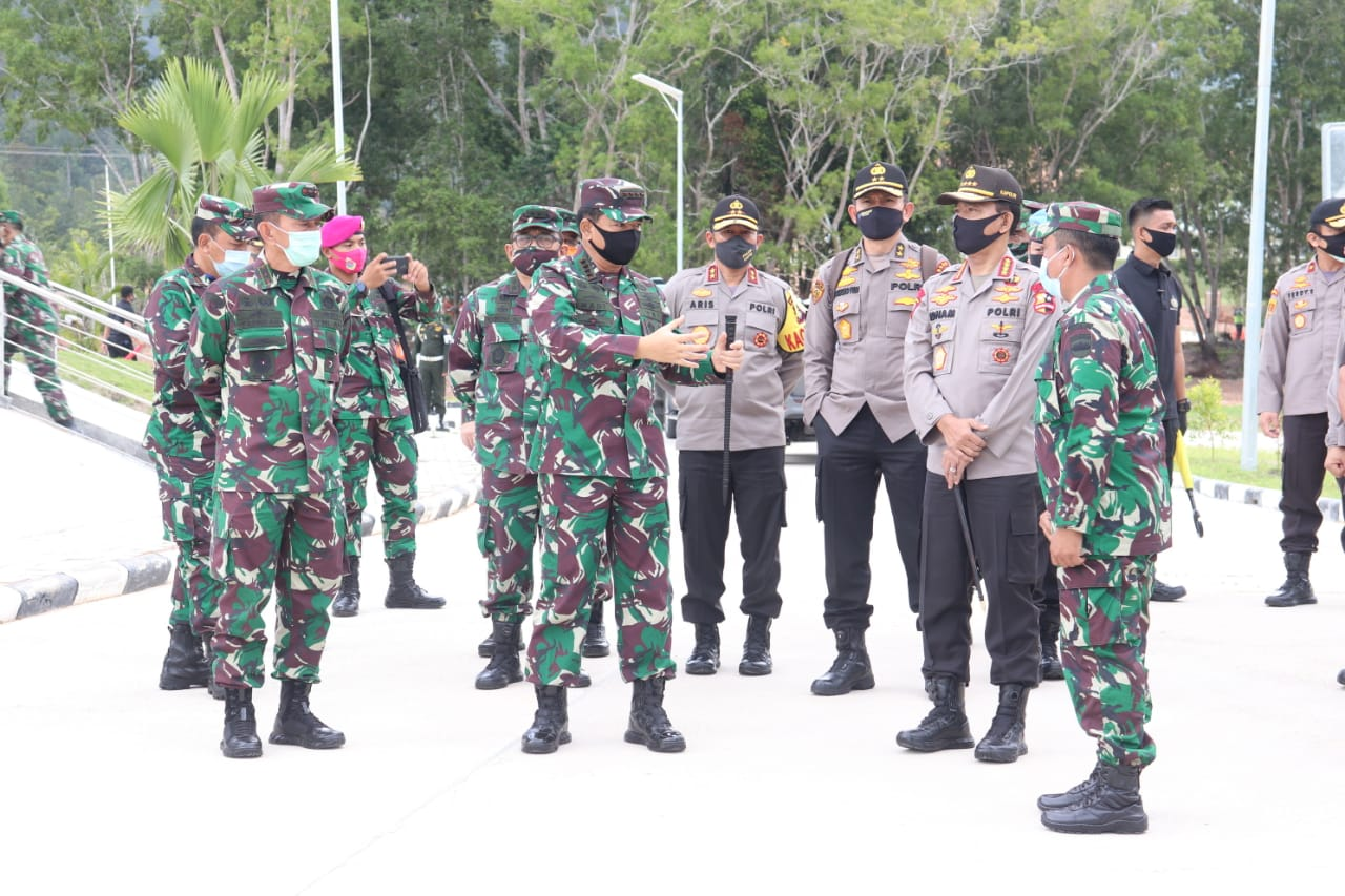 Panglima TNI dan Kapolri Kembali Tinjau RSKI Pulau Galang Batam