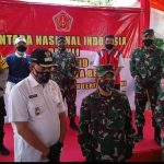 TNI Peduli Covid-19, Wakil Wali Kota, Kapolres Beserta Dandim Kota Bekasi Serahkan Bantuan Secara Simbolis