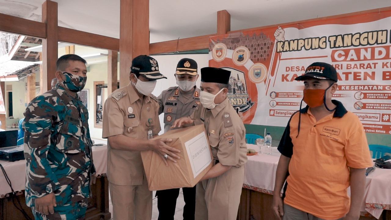 Wakil Bupati Batang: Kampung Tangguh Nusantara Itikad Bersama dalam Mencegah Virus Covid-19