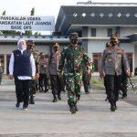 Panglima TNI dan Kapolri Pimpin Rapat Penanganan Covid-19 di Jawa Timur