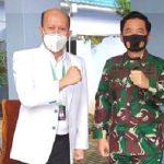 Panglima TNI Dukung Anak Bangsa Lakukan Uji Klinik Terali Secretom Bagi Penderita Covid -19