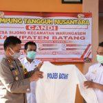 Kapolres Batang: Pencanangan Kampung Tangguh Nusantara Candi Fokus Upaya Preventif Cegah Covid-19