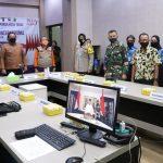 Era New Normal, Hari Anti Narkoba Internasional dilakukan Secara Virtual Oleh Wali Kota dan Wakil Walikota Tegal