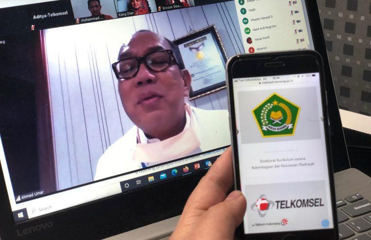 Kolaborasi Telkomsel dan Kemenag RI ditandai Peluncuran Program Kuota Terjangkau Untuk Madrasah